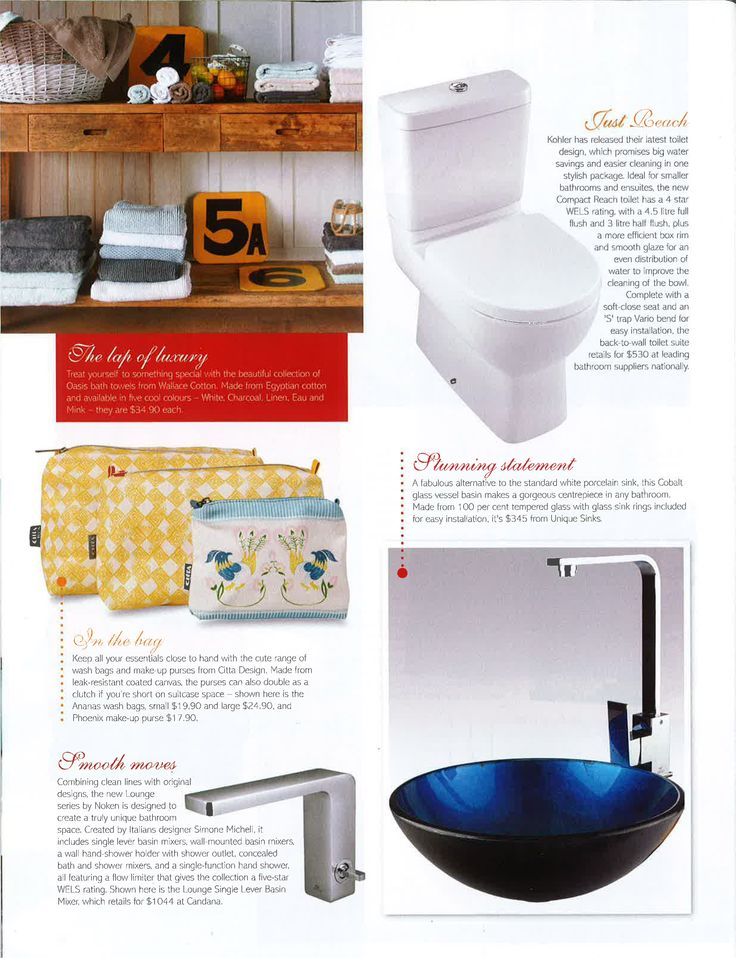 The Cobalt vessel basin is one of our top sellers, featured here in Effortless Kitchens and Bathrooms magazine. They say it is a stunning statement, and would make a gorgeous centrepiece in any bathroom.