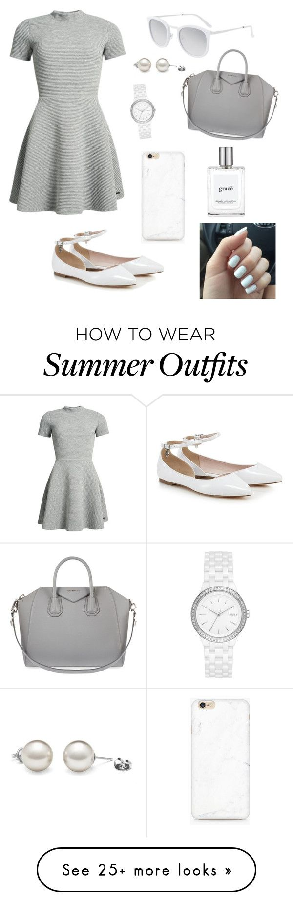 """""""Fancy outfit"""" by cheleniak on Polyvore featuring Superdry, Givenchy, DKNY, philosophy and Smoke x Mirrors"""
