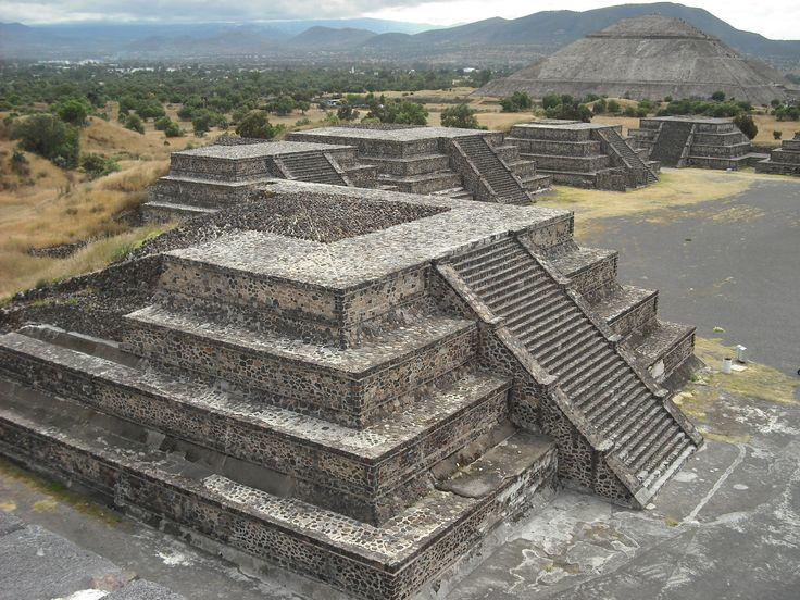Aztec City near Mexico City