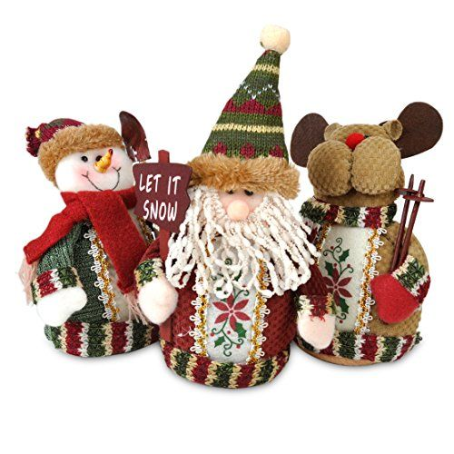 Christmas Standing Decorative Table Ornaments Santa Claus Snowman Reindeer eastar http://www.amazon.co.uk/dp/B0183G1DJ4/ref=cm_sw_r_pi_dp_2Q-vwb08YQ8Z1