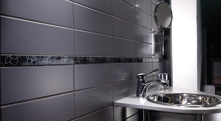 Piastrella per rivestimento bagno gessato rivestimenti bagno pinterest - Iperceramica rivestimenti bagno ...