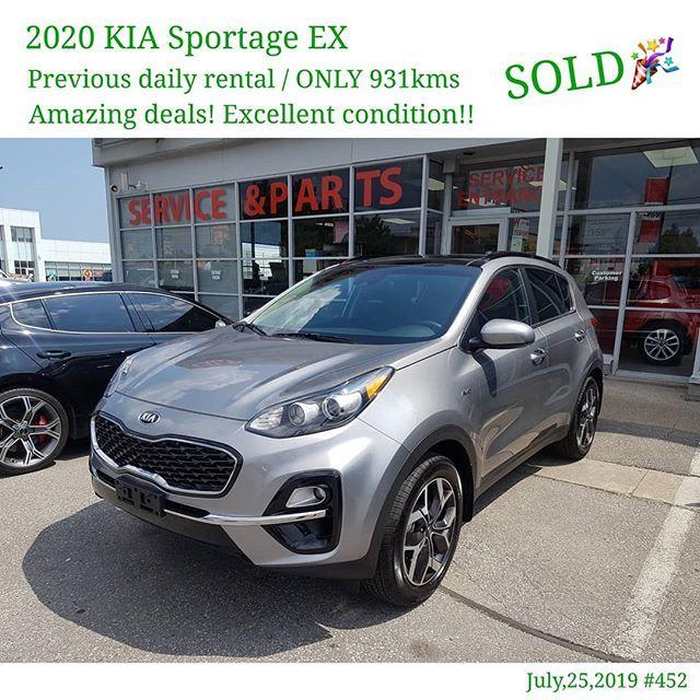 Congratulations On Your 2020 Kia Sportage Ex I Really Appreciate Your Business 8 Display Congratulations On Your 2020 Kia Spor Sportage Kia