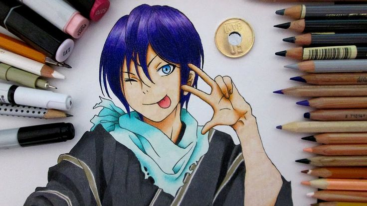 Speed Drawing Yato    Noragami
