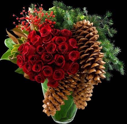 Festive Holday arrangement | Winston Flowers