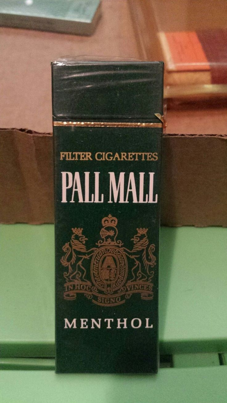 Vintage Sample Pack of Pall Mall Menthol Cigarettes.