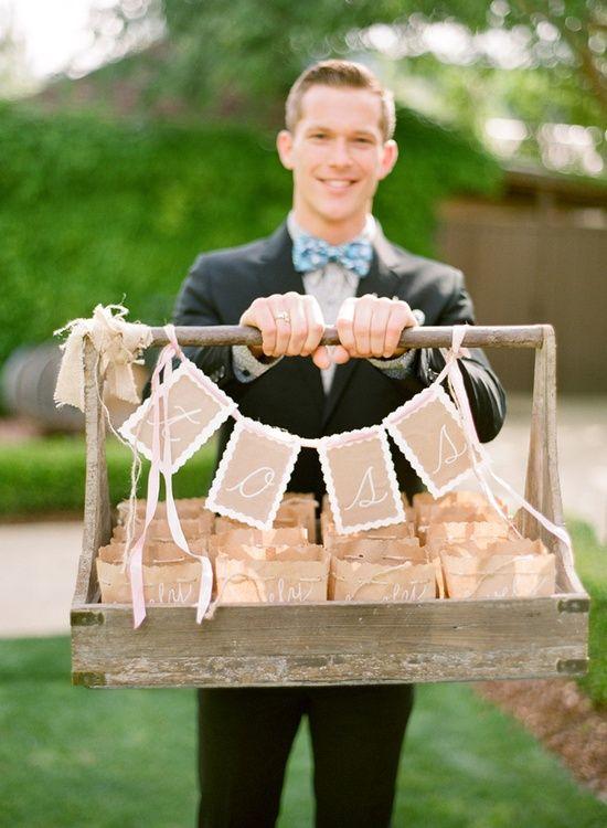 Inspiration: wedding confetti