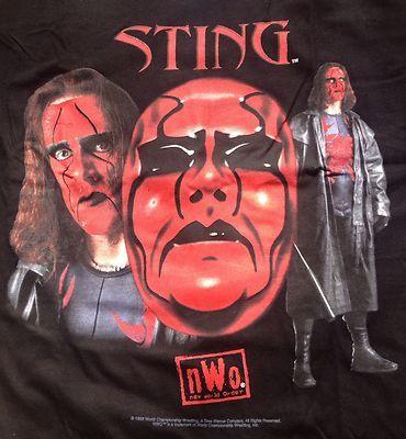 Sting WCW 1998 Vintage RARE T Shirt New | eBay