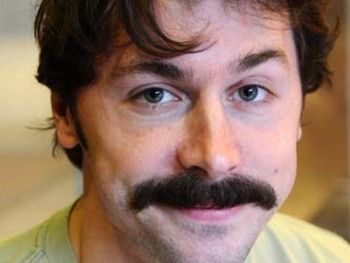 Mike Wozniak, moustache!!