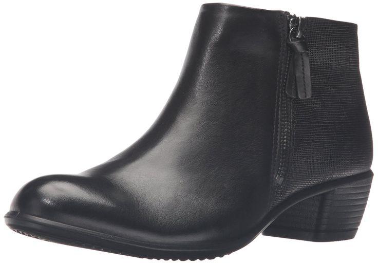 Ecco Damen Touch 35 Kurzschaft Stiefel, Schwarz (Black/BLACK53994), 42 EU: Amazon.de: Schuhe & Handtaschen