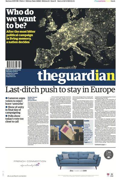 Reino Unido vota para deixar a União Europeia - 24/06/2016 - Mundo - Folha de S.Paulo