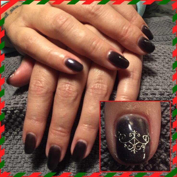 #gelpolish #nails #nailart #christmas
