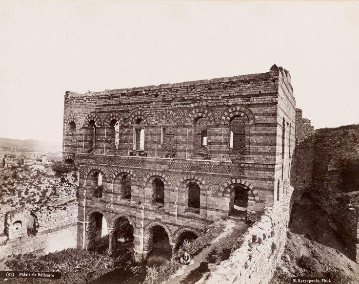 Tekfur Sarayı Basile Kargopoulo Fotoğrafı 1875