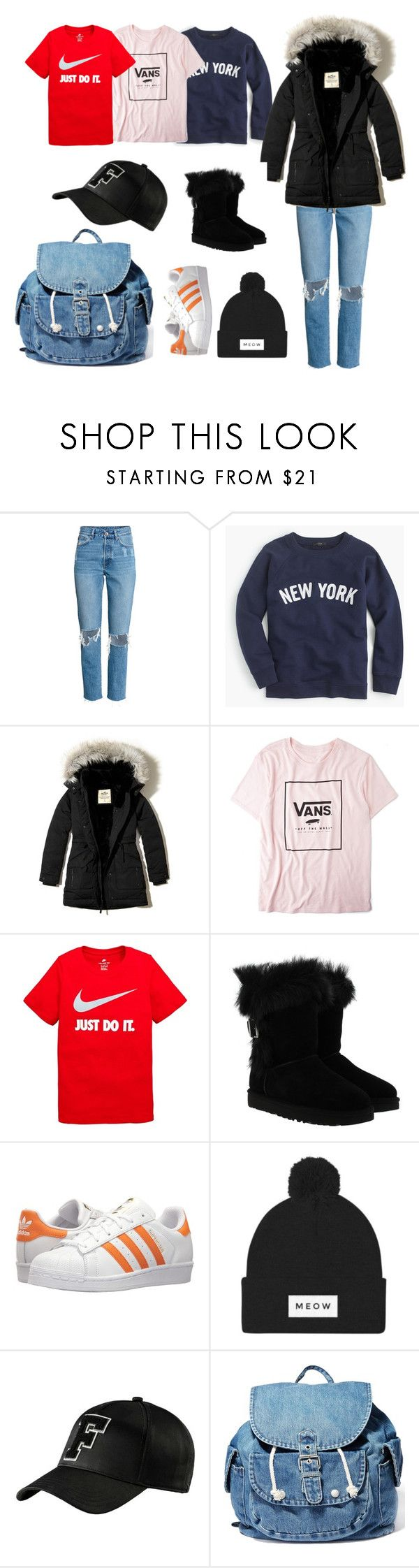 """""""Diamond Lil - Arrival"""" by wishbone454 on Polyvore featuring J.Crew, Hollister Co., Vans, NIKE, UGG, adidas Originals, Puma and Dance & Marvel"""