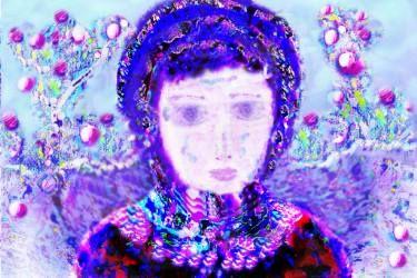 "Saatchi Art Artist ageliki baka; Painting, ""Deaming 2 (Limited Edition 1 of 7)"" #art"