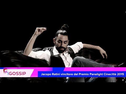 Jacopo Ratini vince il Premio Panalight Cinecittà 2015 alla Festa del Vi...