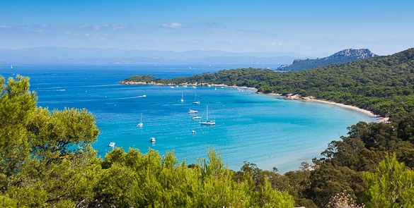 Hyeres, ile de Porquerolles, plage notre dame #porquerolles #blue #bleu #tourismpaca #tourismepaca #MediterraneanSea #MerMediterranee #Porquerolles #France #Provence #South #water #island
