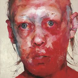 More from Jenny Saville - Figure 11.23. oil on canvas  60 x 60in. (152.5 x 152.5cm.)  Painted in 1997