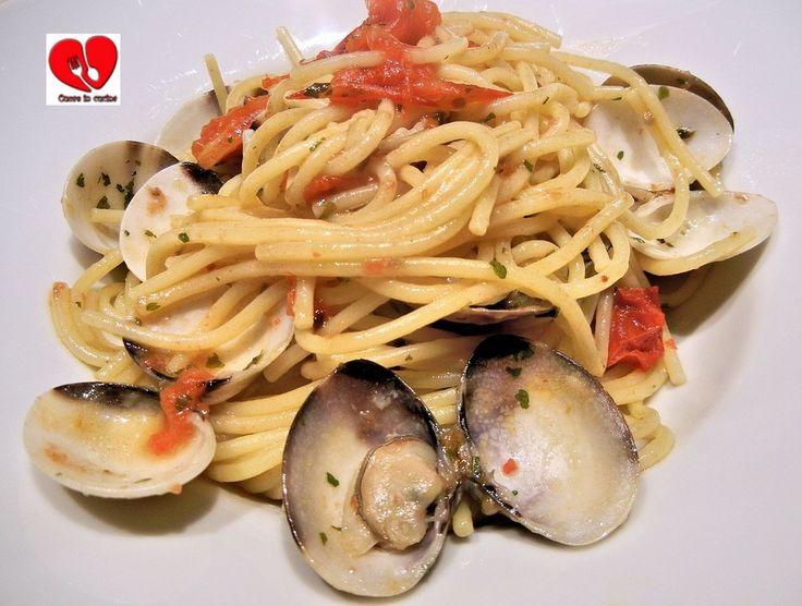 Spaghetti alle vongole veraci.