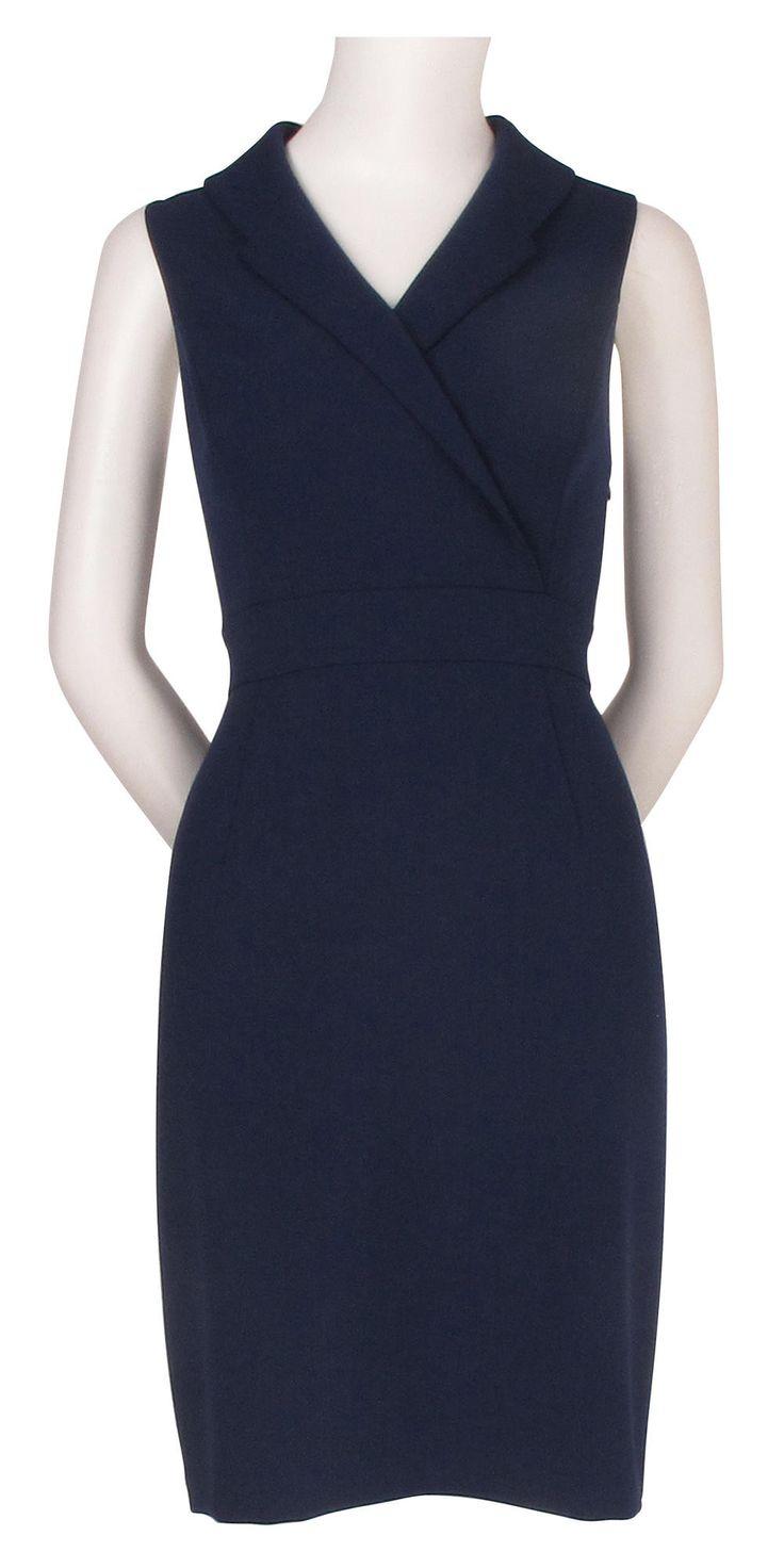 ADRIANNA PAPELL APID100883 Stretch Crepe Blazer Dress - DSK