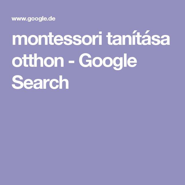 montessori tanítása otthon - Google Search