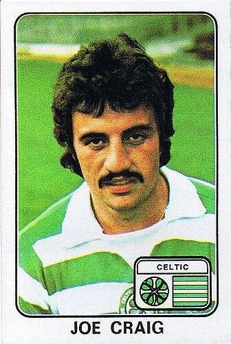 Joe Craig of Celtic in 1977.