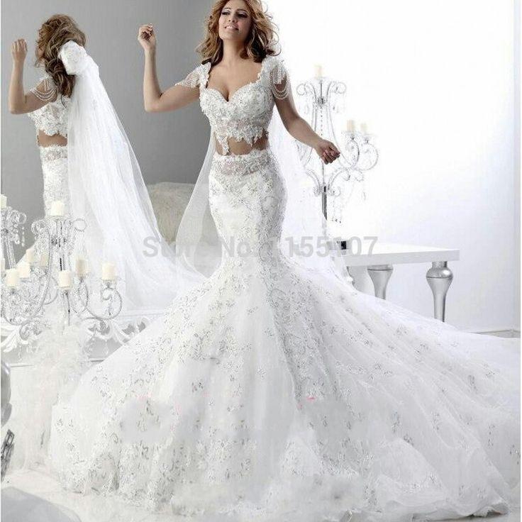ARABIC MERMAID WEDDING DRESS PRICE $ 368.28