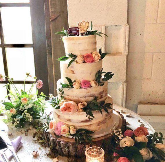 Wedding Or Smash Cake Stand Wedding Cake Stand Smash Cake Stand Wood Slice Cake Stand Rustic Cake Stand Wooden Cake Stand 12 14 16 Inch Wood Slab Cake Stand Rustic Cake