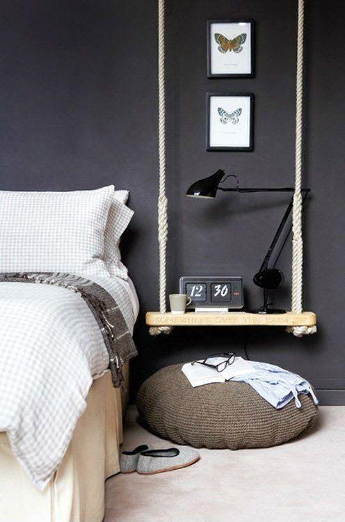 Die besten 25+ Nachttisch Dekor Ideen auf Pinterest | weißes ...