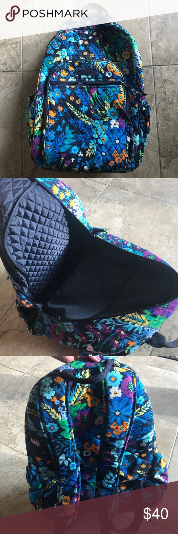 2017 Vera Bradley Backpack Brand new, maybe used once! No scratches, tears or fading. Vera Bradley Bags Backpacks