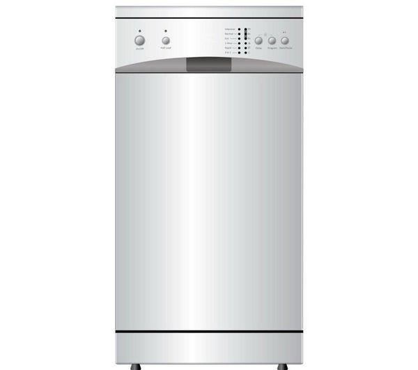 Buy ESSENTIALS CDW45W13 Slimline Dishwasher - White | Free Delivery | Currys