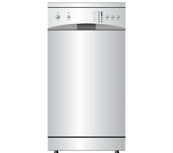 Buy ESSENTIALS CDW45W13 Slimline Dishwasher - White | Free Delivery | Currys