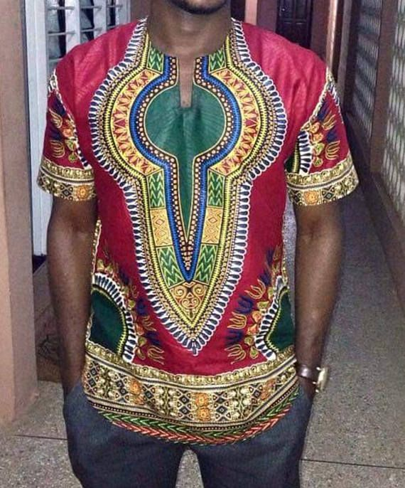 African Men dashiki Shirt Pure African dashiki Fabric I pay Attention to Details Best for all Occasions I accept custom Order inbox me for more information