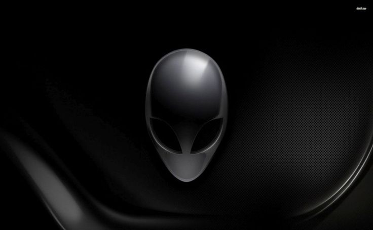 Black Alienware HD Wallpaper