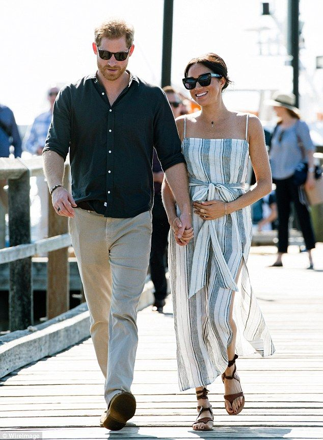 e4ec3d19a1 Adorable moments from Prince Harry and Meghan Markle s royal tour ...
