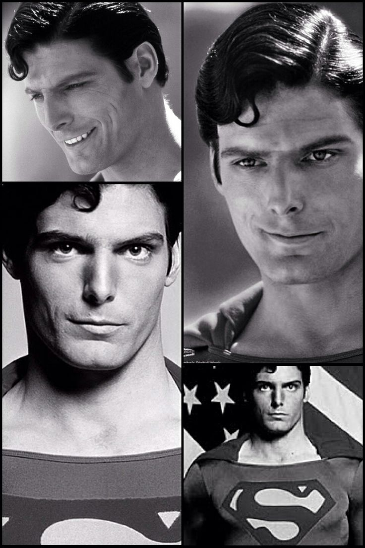 Superman! Christopher Reeve :) Ooohh yess...RIP
