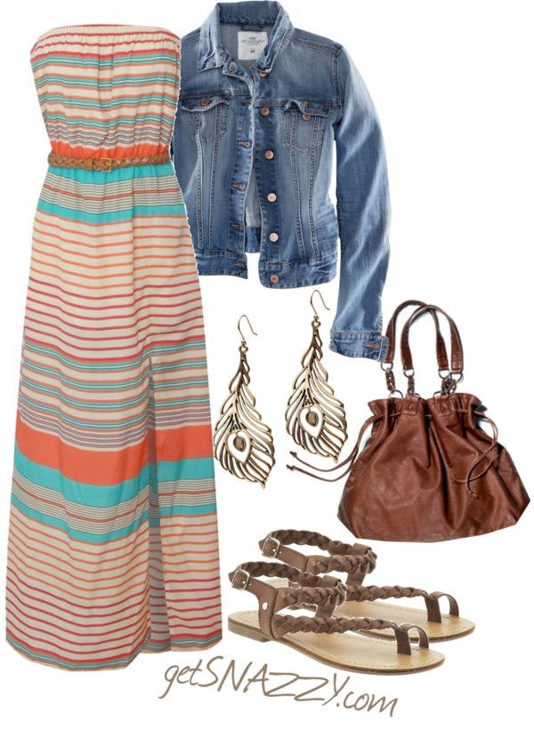 Cute easy spring style..LOVE This is almost identical to my fav spring outfit from last year....and will be there year too!