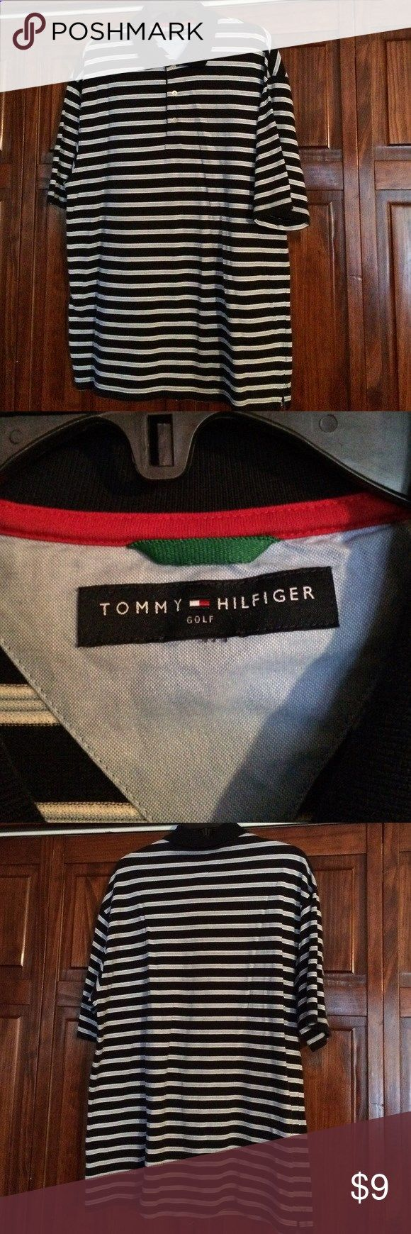 Golf Shirts - Tommy Hilfiger golf shirt Great condition! No smoke/no pet home. Tommy Hilfiger Shirts Polos