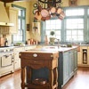 Mixing Woods and Finishes in the Kitchen