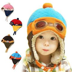 Kid's Aviator Pilot Hat - cute cute cute