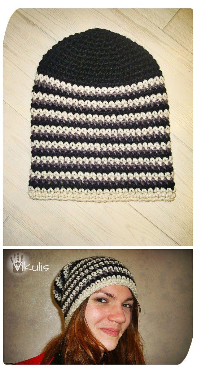 18 best вязаные шапки images on Pinterest | Crochet hats, Crocheted ...