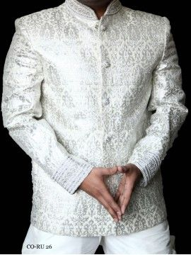 Premium White Silk Coats