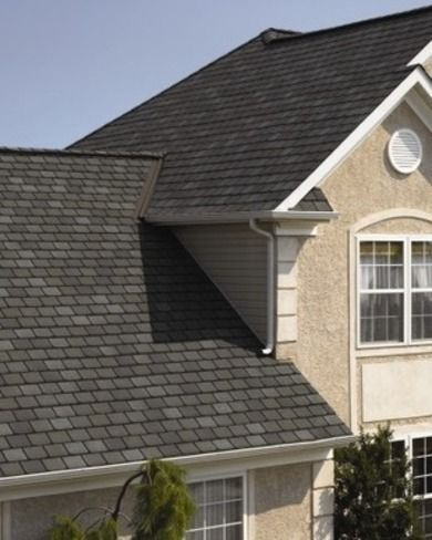 CertainTeed Highland Slate™ - Asphalt Shingles: A Showcase of Roofing Styles, Colors and Options - Bob Vila Shadows, lifetime warranty
