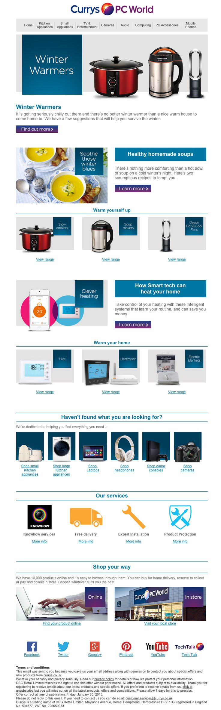 Currys PC World Newsletter
