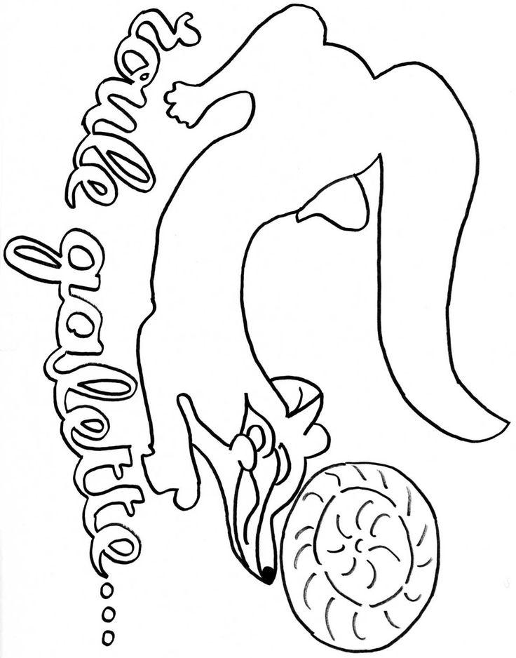 Coloriage imprimer ev nements galette des rois num ro 5500 conte roule galette - Coloriage de galette ...
