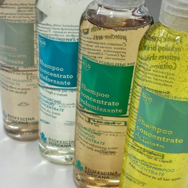 Ecco i nuovi #shampoo Biofficina Toscana nella loro originale diversità che riflette i diversi ingredienti e principi innovativi in essi contenuti! Da oggi disponibi nei nostri rivenditori #ecobio