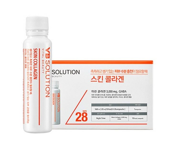 Skin Solution for great moisture, liveliness, and pinky-volume skin. Skin Solution? Fresh 3000mg of fish collagen and lactic-acid fermented extract are included in this collagen ample, so it fills from deep inside your skin and let you have moist, pinky-volume and lively skin. #amorepacificVBsolutionSkinCollagen