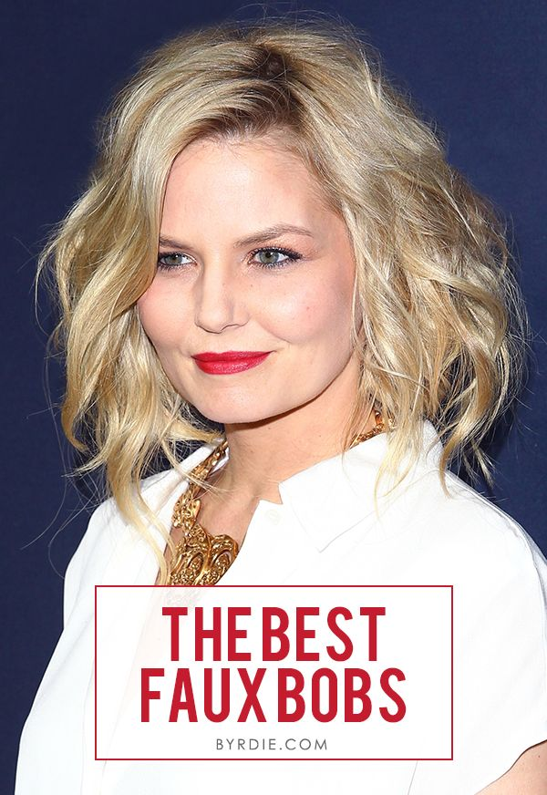 9 awesome faux bobs - the best non-short short hair ever.