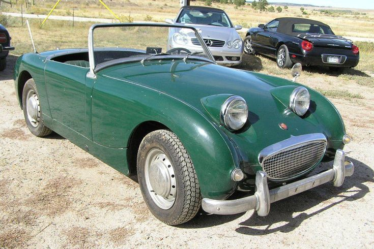 5 Years In The Barn: 1960 Austin Healey Sprite - http://barnfinds.com/5-years-in-the-barn-1960-austin-healey-sprite/