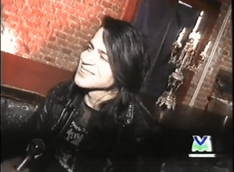 Love makes another way of thinking — Glenn Danzig on Italian TV, 1995.