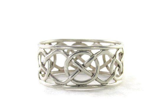 anillo de compromiso celta joyería celta de por BRIZJewelryDesign